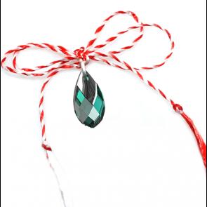 Martisor Pandantiv - Cristal Swarovski Emerald