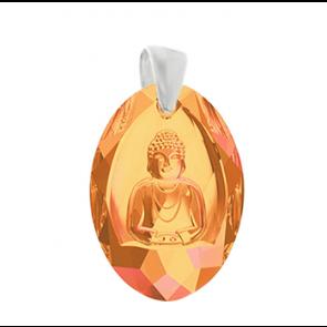 Pandantiv cristal Swarovski - Buddha