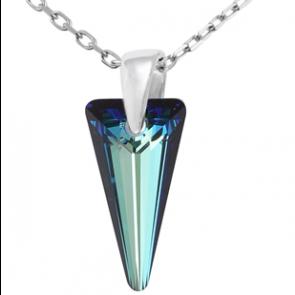 Pandantiv Bermuda Blue Spike  - Cristal Swarovski Designer Edition Jean Paul Gaultier