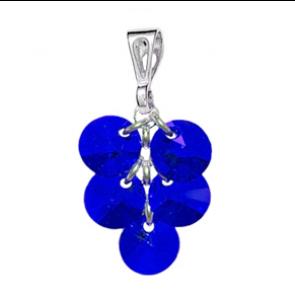Pandantiv Majestic Blue  - Cristale Swarovski