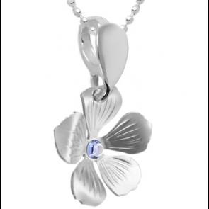 Pandantiv Floare - Cristal Swarovski Provence Lavander