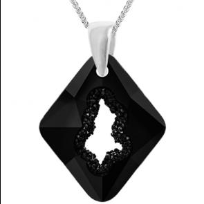 Pandantiv Growing Crystal Rhombus - Cristal Swarovski - Designer Edition IRIS VAN HERPEN