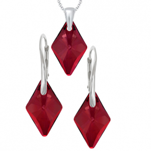 Set Rhombus - Cristale Swarovski