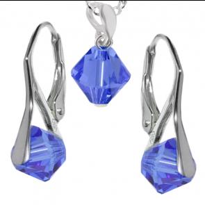 Set Xilion Safir- Cristale Swarovski