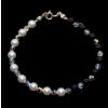 Bratara Yin & Yang - Perle & Cristale Swarovski