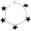 Bratara Black Stars - Cristale Swarovski