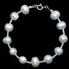 Bratara White - Perle Naturale