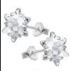 Cercei Edelweiss - Cristale Swarovski Crystal Clear