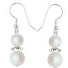Cercei Erina - Pearlescent White - Perle & Cristale Swarovski