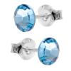 Cercei Calima - Cristale Swarovski Aquamarine