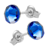 Cercei Capri Blue - Cristale Swarovski