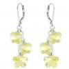 Cercei Alix - Floricele Jonquil Cristale Swarovski
