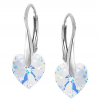 Cercei Darla - Inimioare Cristale Swarovski