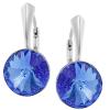 Cercei Rivoli - Cristale Swarovski Sapphire