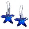 Cercei Bermuda Blue Starfish -  Cristale Swarovski
