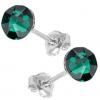 Cercei Emerald - Cristale Swarovski