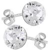 Cercei Cristale Swarovski Xirius - Crystal Clear