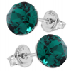 Cercei Cristale Swarovski Xirius - Emerald