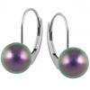 Cercei Becca - Perle Swarovski Iridescent Purple