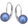 Cercei Becca - Perle Swarovski Iridescent Dark Blue