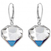 Cercei Diamante - Cristale Swarovski Bermuda Blue Designer Edition: Chris Bangle