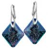 Cercei Growing Crystal Rhombus BB - Cristal Swarovski - Designer Edition IRIS VAN HERPEN