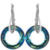 Cercei Bermuda Blue - Cristale Swarovski Cosmic Ring