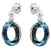 Cercei Cosmic Ring - Cristale Swarovski Bermuda Blue