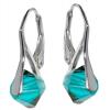 Cercei Xilion Blue Zircon - Cristale Swarovski