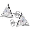 Cercei Triunghiuri - Cristale Swarovski