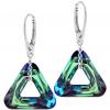 Cercei Triangle - Cristale Swarovski