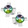 Cercei Cruciulite - Cristale Swarovski Vitrail Medium