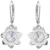 Cercei Floarea Soarelui - Cristale Swarovski