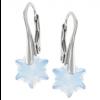 Cercei Edelweiss White Opal - Cristale Swarovski
