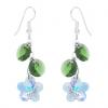 Cercei Aurora Flowers - Cristale Swarovski