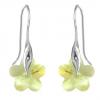 Cercei Jonquil Flowers - Cristale Swarovski