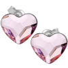 Cercei Inimioare Rosaline - Cristale Swarovski