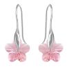 Cercei Rose Flowers - Cristale Swarovski