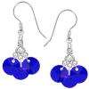 Cercei Scarlet - Cristale Swarovski Majestic Blue
