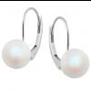 Cercei Becca - Perle Swarovski Pearlescent White