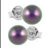 Cercei Incia - Perle Swarovski Iridescent Purple