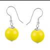 Cercei Neon Yellow - Perle Swarovski