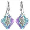 Cercei Growing Crystal Rhombus Vitrail Light - Cristal Swarovski - Designer Edition IRIS VAN HERPEN