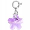 Charm Violet - Floare Cristal Swarovski