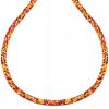 Colier Mix Orange - Sticla Boemia