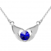 Colier ''My Heart'' - Cristal Swarovski Majestic Blue