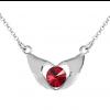 Colier ''My Heart'' - Cristal Swarovski Red Scarlet