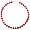 Colier Red Coral - Perle Swarovski