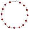 Colier Red Basic - Cristale & Perle Swarovski