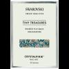 Cristale Swarovski - Crystal Pixie Tiny Treasures Rimmed Flat Back Aquamarine